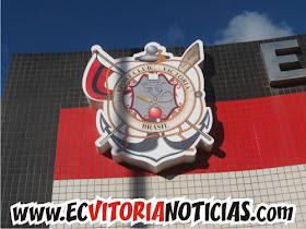 Escudo antido EC Vitória - Barradão