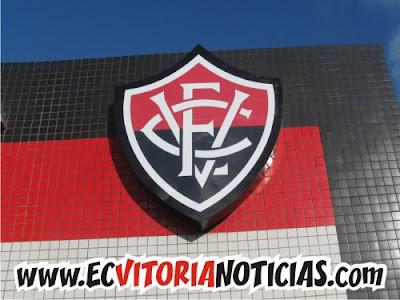 Escudo EC Vitória - Barradão