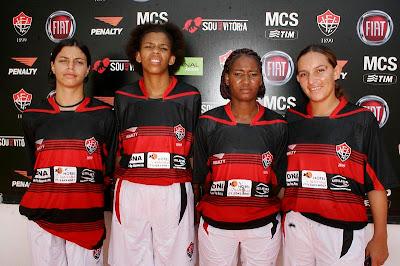 Futebol Feminino do Esporte Clube Vitória 2008