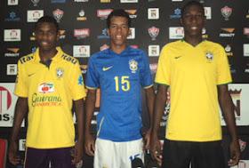 Marcelo, Josué e Marcus Vinícius