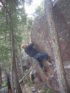Full Gronky Arete Boulder Problem