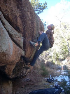 South Saint Vrain Canyon Bouldering near Lyons, Colorado