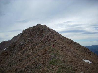 Bard Peak to Mount Parnassus traverse