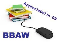 BBAW Appreciated in 2009 button