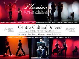 LLUVIAS TORRENCIALES en el Centro Cultural Borges