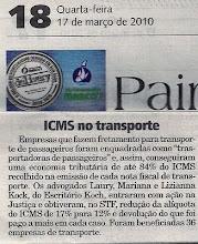 Koch obtém excelente vitória - ICMS sobre transporte de pessoas/passageiros