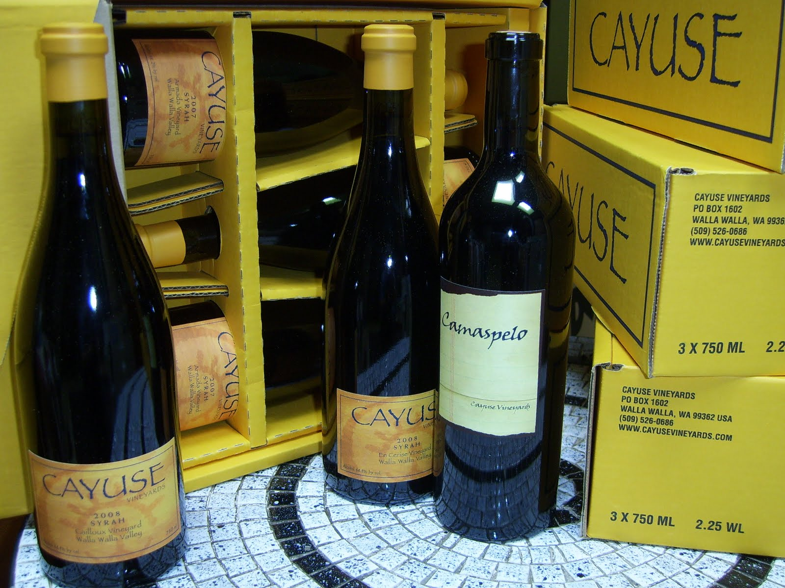 Shiraz american syrah cayuse for Cayuse vineyards