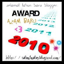 AWARD AZAM BARU