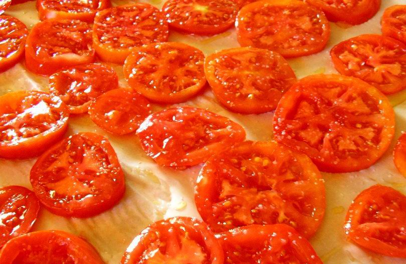 """Sprigs of Rosemary: Oven-dried Tomato """"Candy"""""""