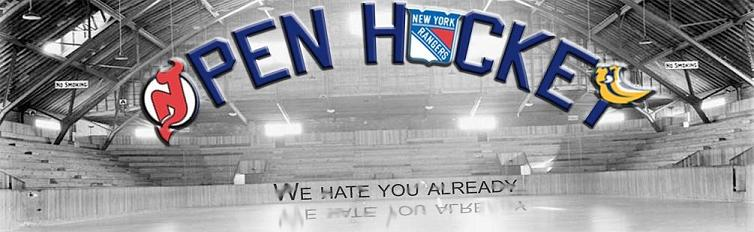 OPEN HOCKEY - We Hate You Already