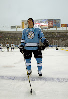 Sidney Crosby at the Winter Classic, 1-1-2008, Courtesy of AOL Sports/Getty Images