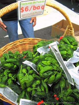 happy quail farms pimiento de padron peppers