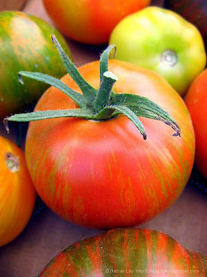 wild boar farms striped tomato