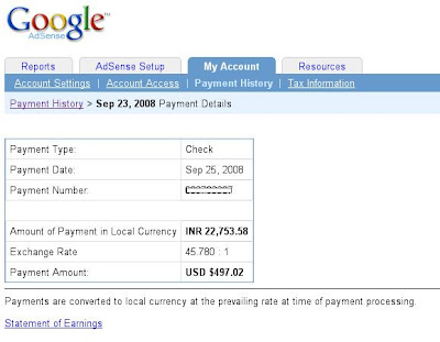 earning revenue with adsense