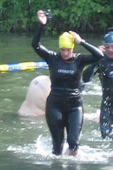 Great swim Nicole!