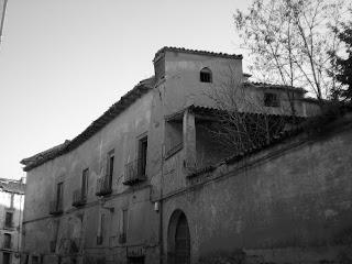 Detalle del palacio de los Villantonia de Calatayud