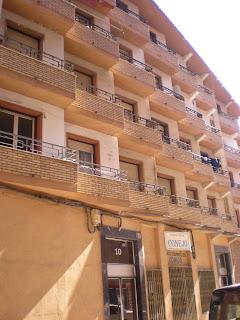 Arquitectura años sesenta Calatayud. Destrucción patrimonio