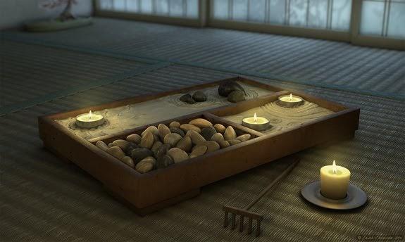 El rinc n del relax jard n zen en miniatura for Jardin zen miniatura