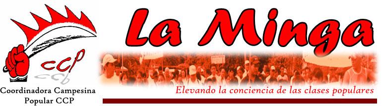 minga de Coordinadora Campesina Popular CCP