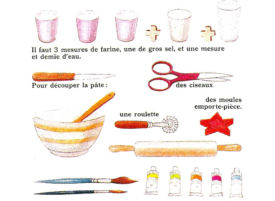 pate a sel recette images