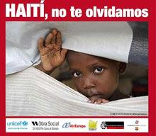 HAITI, ON NE T'OUBLIE PAS!