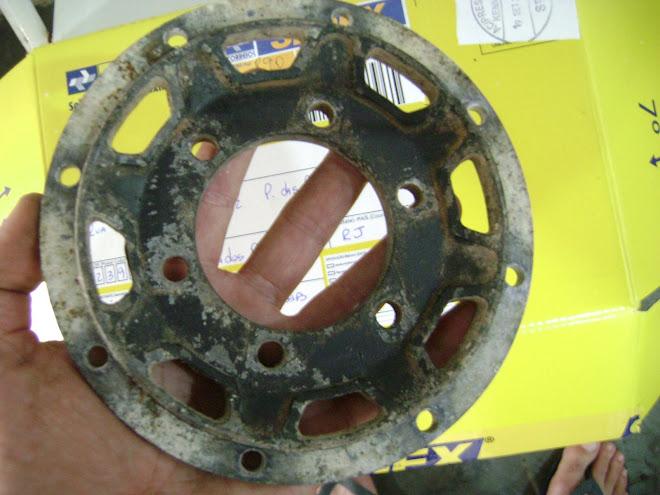 Base do disco de freio