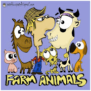 Farm Animals. Another doodle at a conference meeting ( touched up later in .