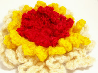 unique handmade crochet broach brooch gift present fashion kookoo