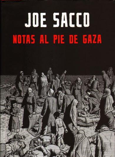 Notas al pie de Gaza - Joe Sacco [CBR | Español | 179 MB]