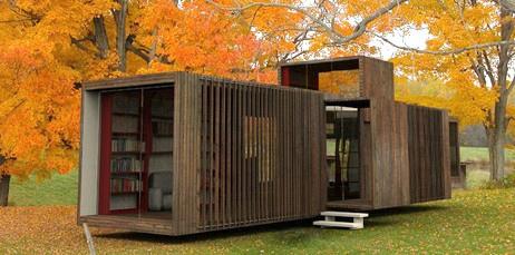 Viviendas hechas con contenedores reciclados de arkitectura - Casas hechas con contenedores precios ...