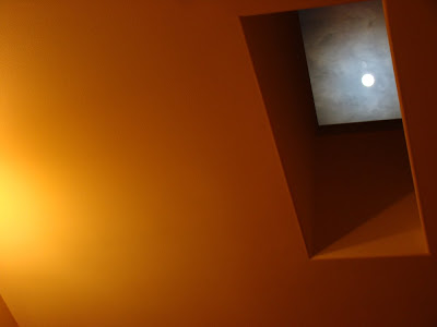 Spring Moon Through Skylight