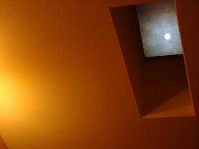 Spring Moon Through Skylight