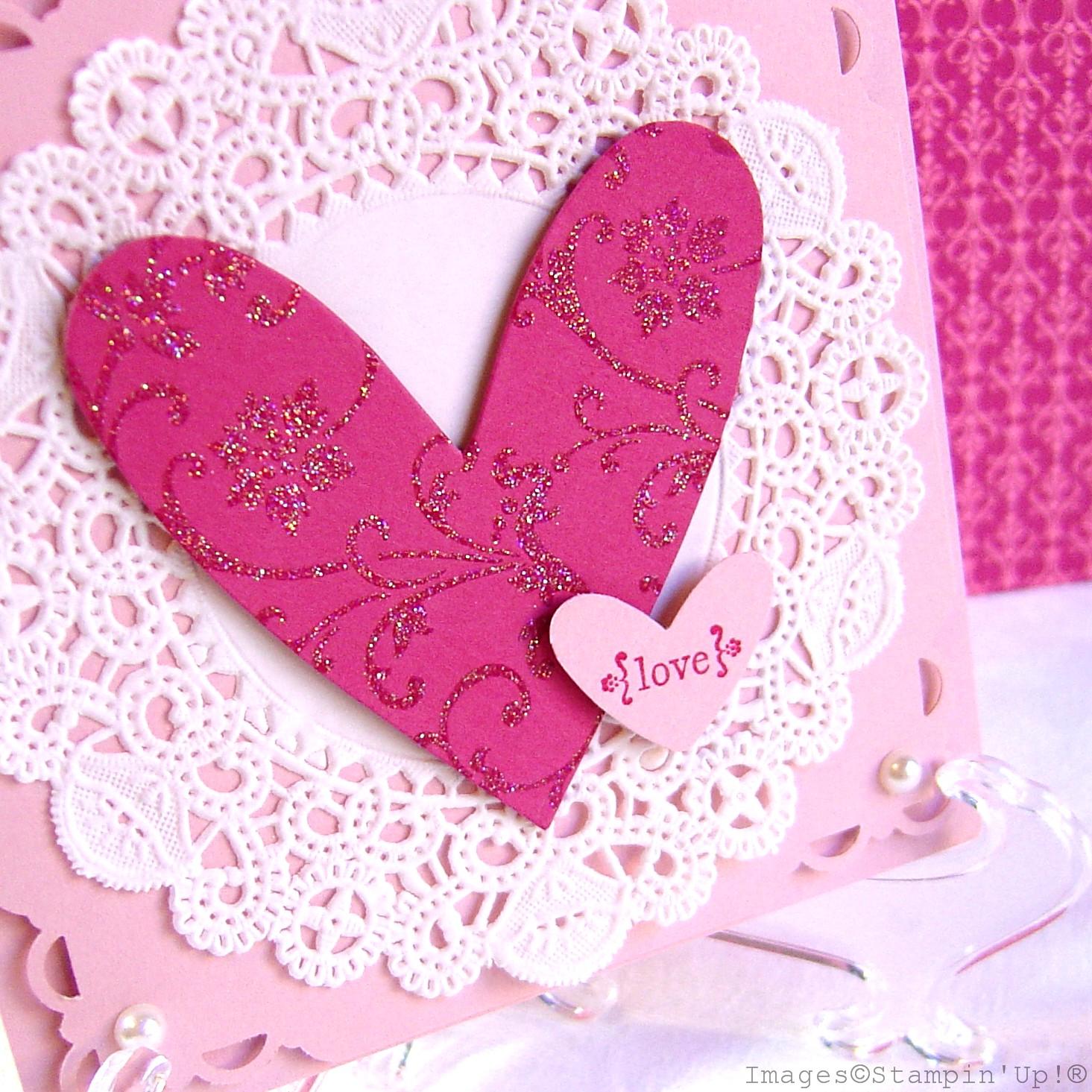Открытки с сердечками своими
