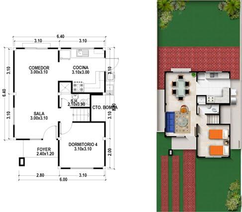 Compa as que ofrecen planes de casas en guayaquil ciudad for Cocina plano arquitectonico