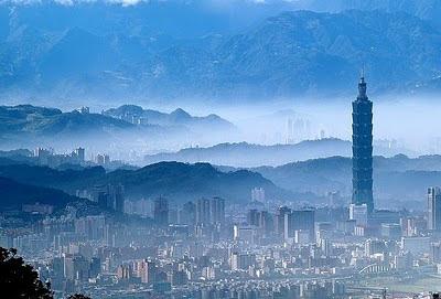 Lo skyline di Taipei, Taiwan