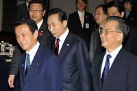 Summit Cina Giappone Corea