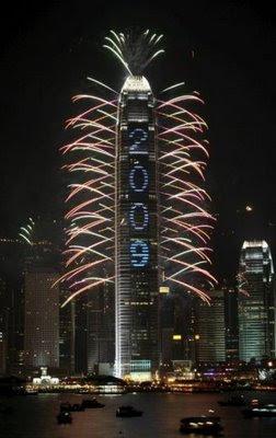 Capodanno 2009 a Hong Kong, Cina