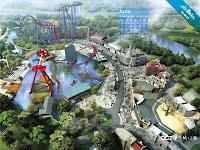 Il nuovo parco divertimenti Happy Valley a Shanghai