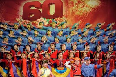 Buon compleanno Cina! 60 anni oggi, 1 ottobre 2009