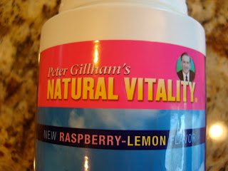 Label saying Raspberry Lemon Flavor