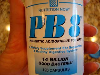 Bottle of PB 8 Probiotics