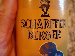 Hand holding Scharffen Berger product