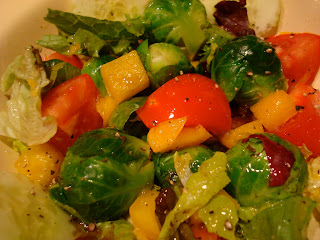 Salad with mixed vegetables