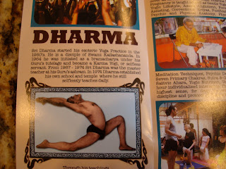 Inside Dharma Mittra Yoga Book