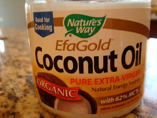 EfaGold Coconut Oil Container