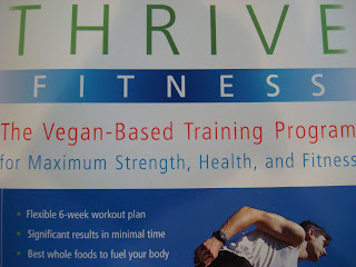 Close up of Thrive Fitness Book