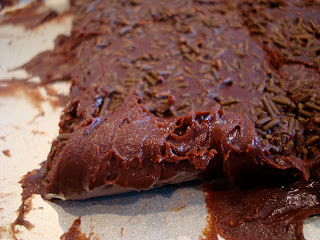 Close up of Vegan Fudge