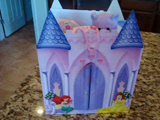 Princess Gift Backed with Present inside