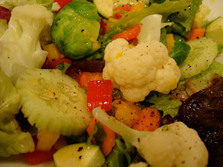 Mixed Greens and Vegetable Salad