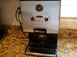 Cuisinart Coffee Maker on countertop
